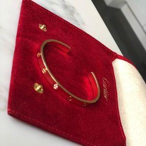 Authentic Cartier Love Bracelet 1 Diamond